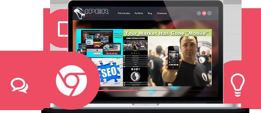 Viper Online Mobile Web Design
