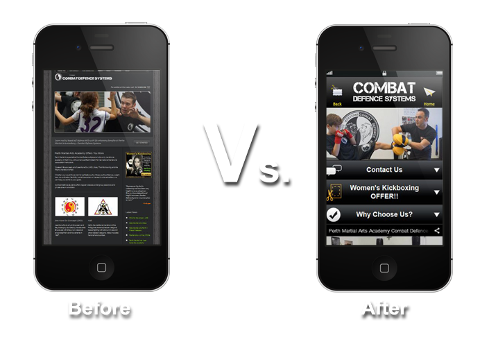 Viper Mobile Website Comparision