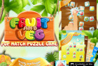 Awesome Tap Fruit and Vegetable Fast Pop Match Puzzle